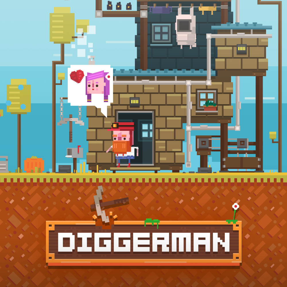 Diggerman featured worlwide